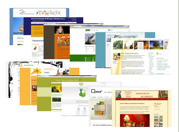 webdesign beispiele mit wordpress erstellt von web by michi