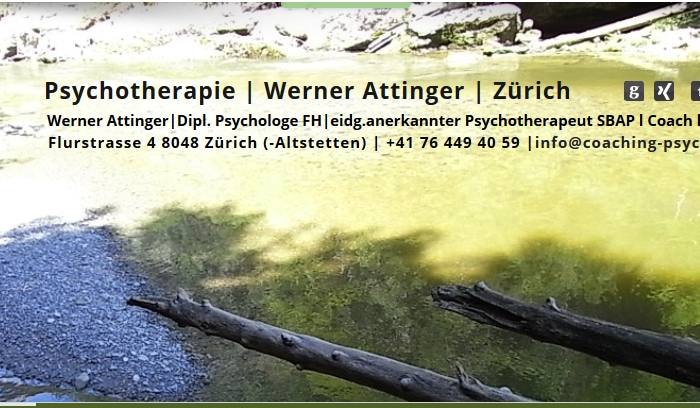 www.psychotherapie-zuerich-werner attinger