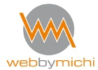 web by michi Retina Logo