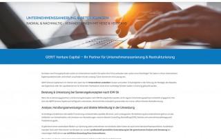 Gerit Venture capital - neue Website online
