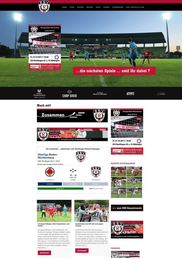 SSV Reutlingen 05 Fussballverein